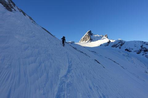 Skitour, Chli Spannort, Krönten, Kröntenhütte, Glatt Firn