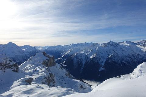 Skitour, Hoch Fulen, Brunnital, Unterschächen, Klausenpass, Sapnnort, Krönten