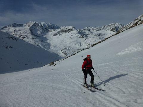 Piz Alv, Skitour, Engadin, Val Minor