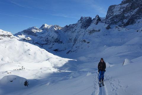 Skitour, Hoch Fulen, Brunnital, Unterschächen, Klausenpass, Gross Ruchen Nordwand, Gross Windgällen, Nordwand