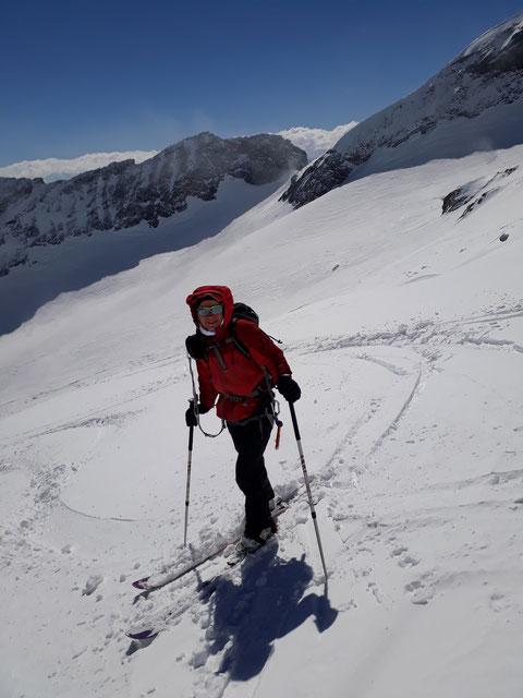 Skitour Tödi, Tagestour, Tödi an einem Tag, von Tierfehd