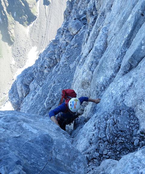 Gross Ruchen Nordwand, Bergtour, Hochtour, Uri, Klausenpass
