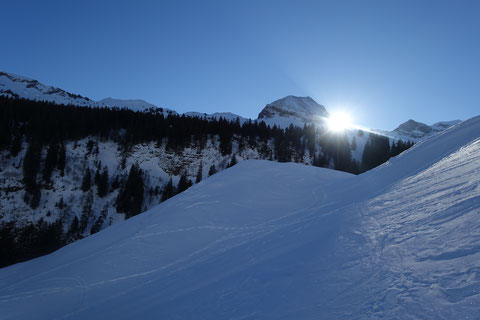 Skitouren Schweiz, Schwyz, Zentralschweiz, Lauiberg, Studen, Ortegg