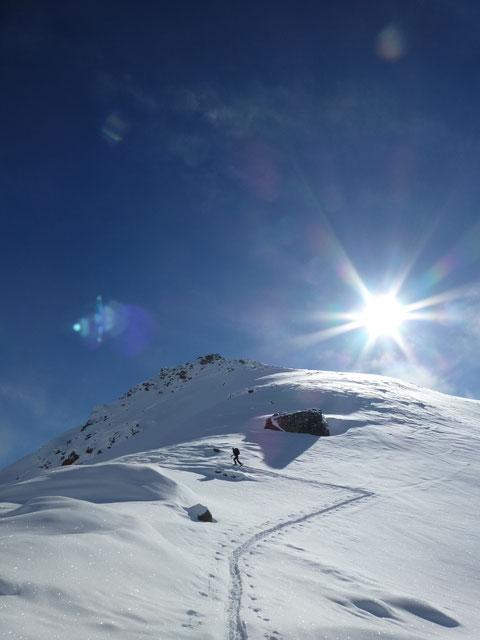 Chrachenhorn, Skitour, Monstein, Davos