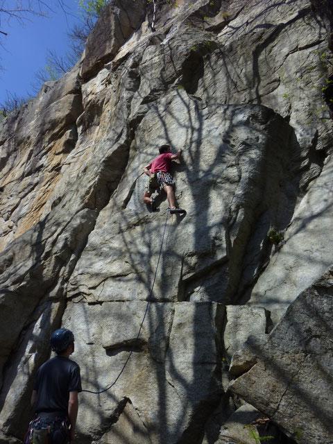 Sobrio, Sektor Hatha, Route Hatha, klettern
