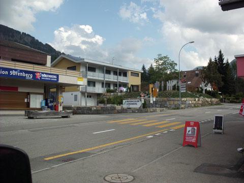 über Entlebuch gings nach Sörenberg - von dort ging es zum Glaubenbüelenpass