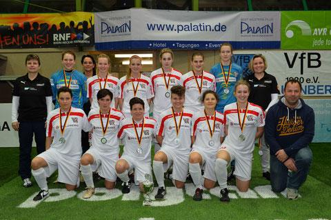 Am Ende konnte sich auch Niederkirchen freuen. Sie sind im SAP Cup dabei. Foto: Klaus Schwabenland