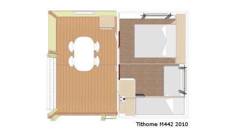 Plan intérieur du Tit'home
