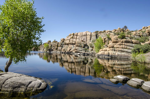watson lake prescott sunset beautiful lake national forest arizona igoplaces.de
