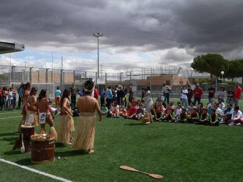 Presentación del XV Sanse Scrum R.C. en el Polideportivo Dehesa Boyal