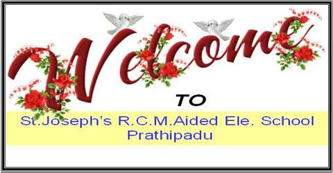 BIenvenue à l'ecole St Joseph de Prathipadu