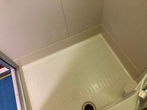 賃貸マンションユニットバス巾木修理
