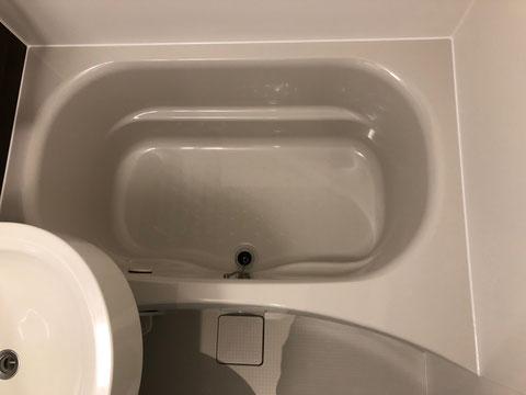 FRP浴槽亀裂修理