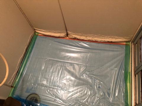ユニットバス巾木錆び、膨れ