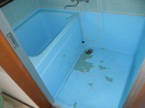 ステンレス浴槽剥がれ
