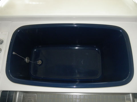 ステンレス浴槽 再生塗装