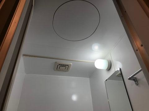賃貸マンション3点式ユニットバス再生塗装