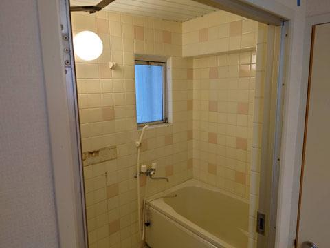 在来浴室再生工事