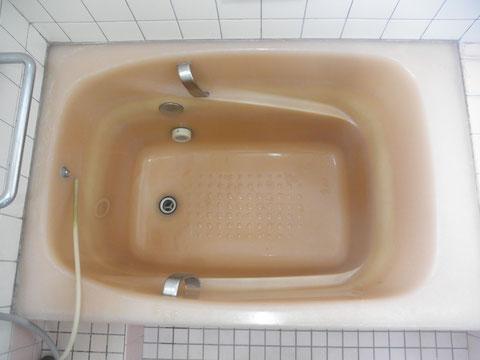 人工大理石浴槽色あせ