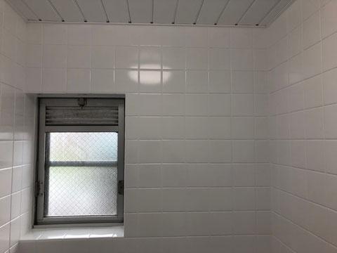 賃貸マンション浴室タイル再生塗装