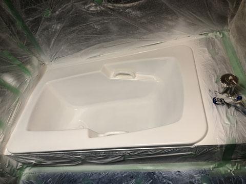 ソープランド浴槽修理