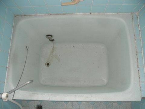 FRP浴槽色あせ