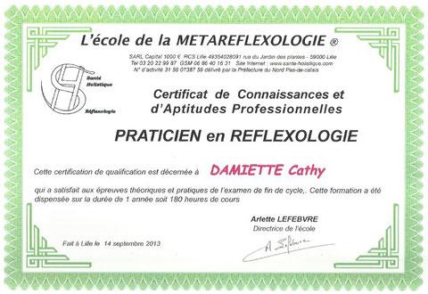 Cabinet de Réflexologie plantaire - Cathy Damiette à Balinghem - Près de Nielles-lès-ardres, Recques-sur-hem, Nordausques, Eperlecques, Bayenghem-lès-Eperlecques, Nort-Leulinghem, Zouafques, Tournehem-su