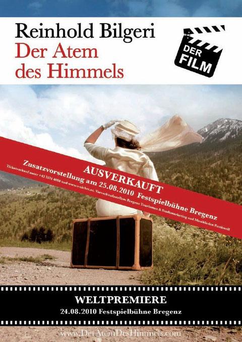 """Armins erste Filmrolle! Ein Höhepunkt in meiner """"Karriere"""" bisher! Meine Rolle als """"Bertl"""" in Reinhold Bilgeris Romanverfilmung von """"Der Atem des Himmels""""!"""