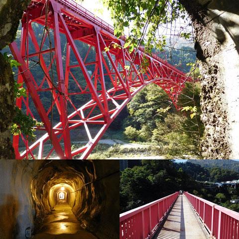やまびこ遊歩道から山彦橋