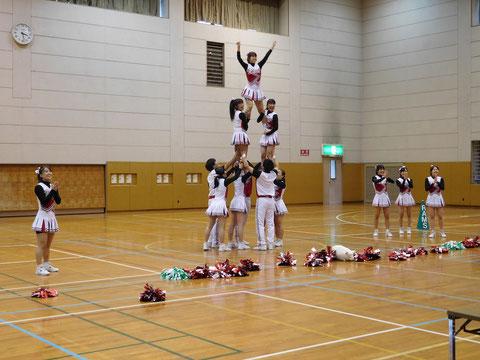 東京外国語大学チアリーディング部Rams演技披露