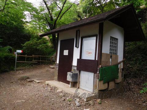 岩殿山トイレ