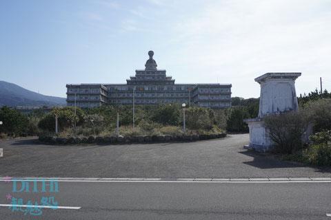 八丈オリエンタルリゾートは三大廃墟の一つ