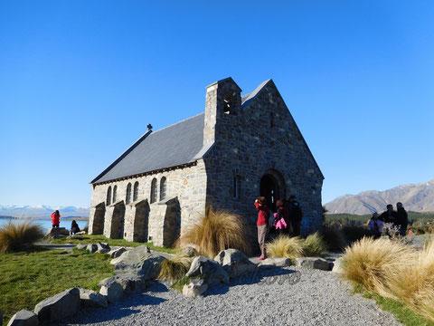 レイクテカポ教会