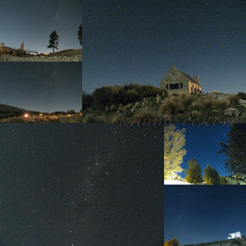 レイクテカポでの星空観察