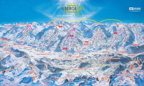 4 Berge Schischaukel