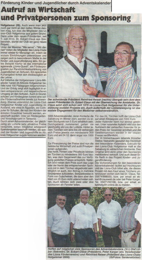 HOG-aktuell 29.07.2010