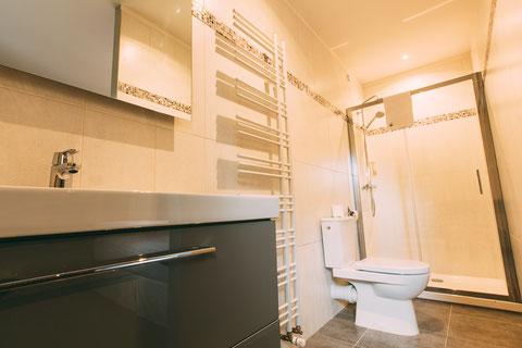 The Gem, chambre d'hôtes, maison d'hôtes, B&B, grand lit 180x200, confort et services hoteliers, petit déjeuner inclus, 1 personne, douche à l'italienne