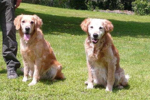 Eazie-Belle et son grand-père maternel Vierri
