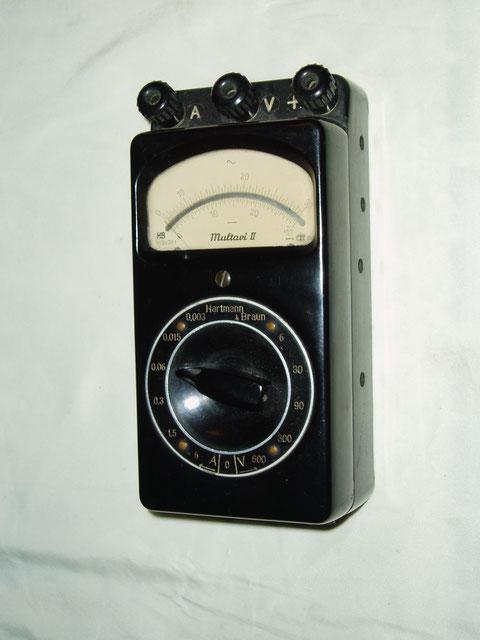Multimeter Multavi II für Gleichstrom.