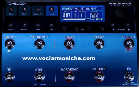 TC-Helicon Voice Live 2 Extreme Edition