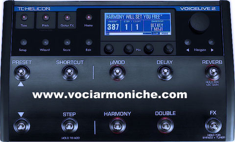 TC HELICON - Voice Live 2