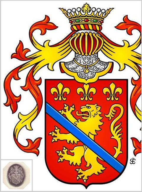 Wappen-Zeichnung