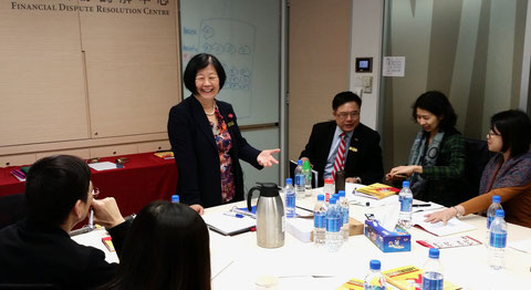 Dr Kweethai training mediators in Hong Kong