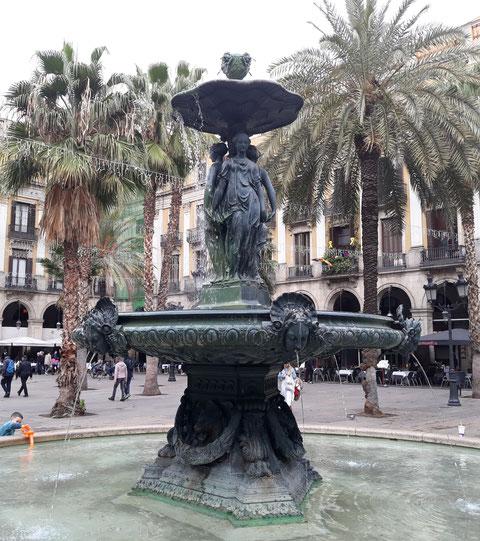 Королевская площадь в Барселоне - интересные факты
