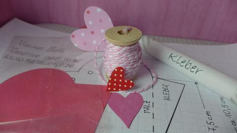 Valentinstag - Süßes für die oder den Süße(n) - Vorschlag 2, Materialien