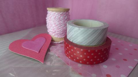Valentinstag - Süßes für die oder den Süße(n) - Vorschlag 1, Materialien