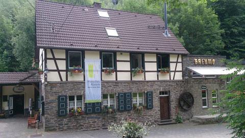 historischen Monschauer Senfmühle