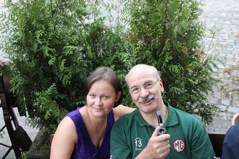 Schade, dass Bernd und Barbara uns in Richtung Bayern verlassen werden :-(