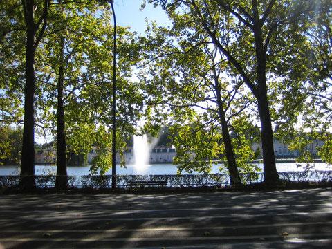 Schloss Benrath (leider ohne Parkmöglichkeit)