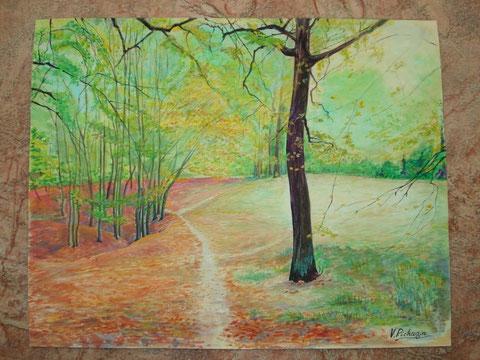 Осень в Сырецком парке. 2011 г.